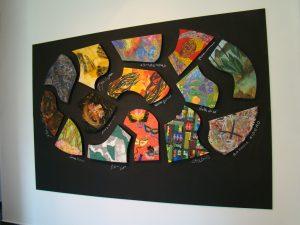 O painel 'Brasilidades', que será exposto em Nova York durante o mês de maio