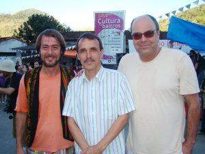 Ayrton Rebello, Wanderley Peres e Ronaldo Fialho