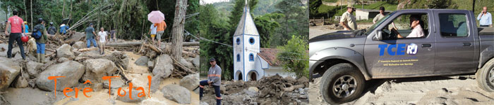 Chuvas causam tragédia em Teresópolis RJ
