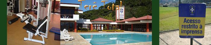 Sala de treinos da CBF em Teresópolis