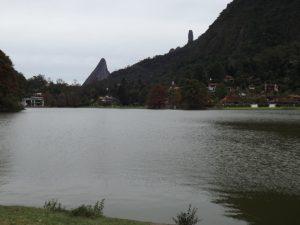 Lago na Granja Comary em Teresópolis