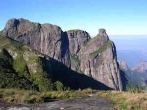 Paisagens das montanhas do Parque Nacional da Serra dos Órgãos