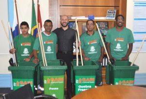 Mais quatro bairros de Teresópolis são atendidos pelo programa 'Gari Comunitário'