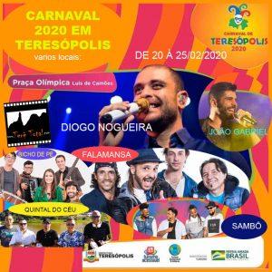 Carnaval 2020 em Teresópolis