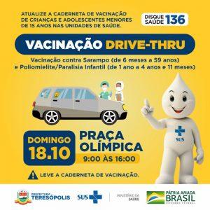 'Dia D' das campanhas contra poliomielite, sarampo e de multivacinação acontece neste sábado (17) em todas as unidades de saúde