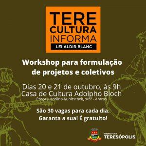 Teresópolis faz curso sobre elaboração de projetos e coletivos