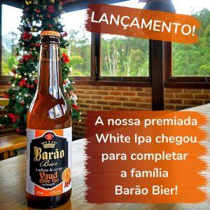 Barão Bier faz pré-lançamento de sua Vaud – White Ipa em Teresópolis