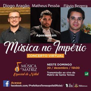 Música na Matriz – Especial de Natal no domingo 06