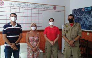 Prefeitura busca parceria do Corpo de Bombeiros para ampliar a rede de proteção a mulher vítima de violência doméstica