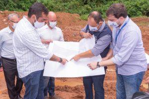 Governador Cláudio Castro confirma ao Prefeito Vinicius Claussen início de obras em Teresópolis