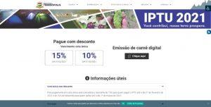 IPTU 2021: guias podem ser impressas pela internet, para evitar aglomeração