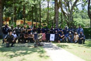 Treinão da Guarda Municipal reúne Polícia do Exército e Companhias de Operações com Cães de cinco municípios em Teresópolis
