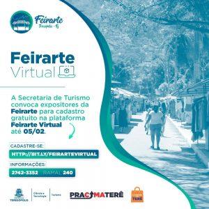 'Feirarte Virtual' Teresópolis Terê Total