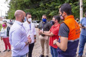 Representantes de Estado e Município avaliam as intervenções do Governo do Estado em Teresópolis