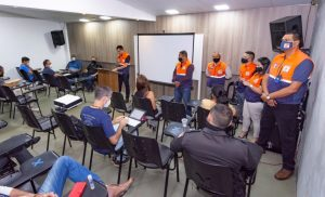 Defesa Civil reúne líderes comunitários e apresenta projetos de prevenção para o 1º semestre