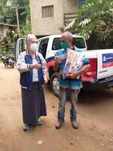 Campanha de doação de alimentos do Movimento '10 anos, Nosso Respeito às Vítimas de 2011'