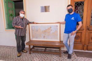 Secretaria de Cultura recebe doação de planta de Teresópolis do século 19