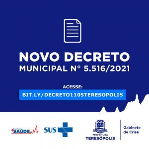 Novo Decreto municipal mantém o rodízio de CPF em Teresópolis