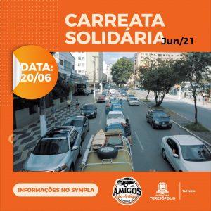 Carreata Solidária Amigos do Antigo acontece dia 20 em Teresópolis