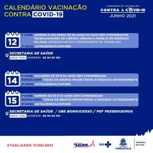 vacinação covid-19 em Teresópolis