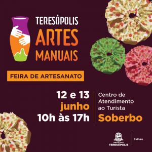 Nova edição do 'Teresópolis Artes Manuais', neste final de semana, no Soberbo