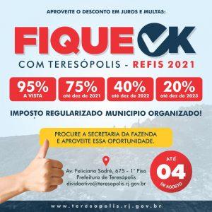 Campanha 'Fique OK com Teresópolis'