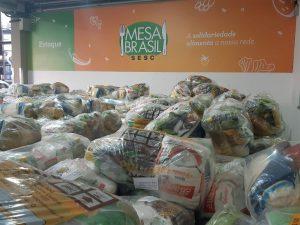 Mesa Brasil Sesc RJ distribuirá 3 toneladas em cestas básicas em Teresópolis nesta quarta-feira (21/7)