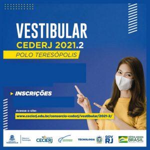 Vestibular CEDERJ 2021.2: próximo domingo, 25