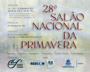 XXVIII Salão Nacional da Primavera SOARTE Teresópolis RJ