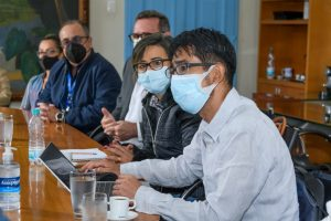 Hideto Ochi, conselheiro-chefe da JICA, apresenta o projeto
