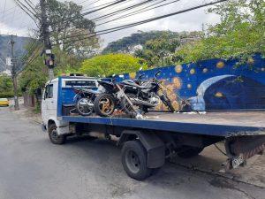 Operação 'Moto Legal e Aplicativo Legal' em Teresópolis